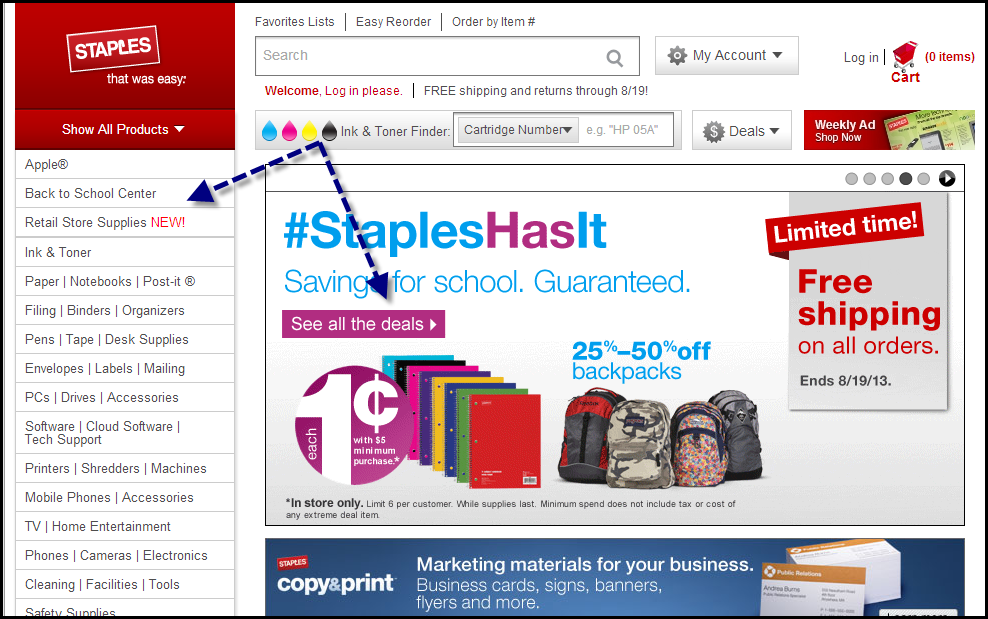 Staples   A How To Guide: Measuring Calls-To-Action with Google Analytics