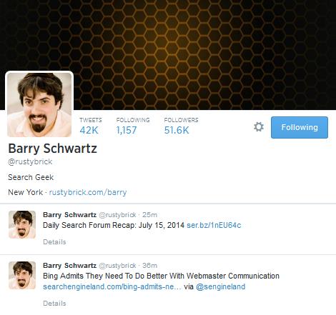BarrySchwartzSEOTwitter