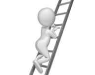 Climbing to the top of a ladder | The Value of #1 Ranking on Google