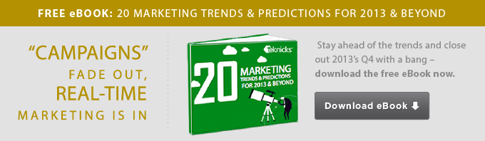 20 Marketing Trends And Predictions for 2013 & Beyond