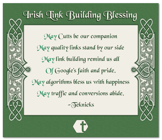 Irish Link Building Blessing | Link Building Post