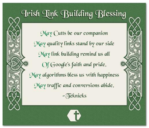 Irish Link Building Blessing   Link Building Post