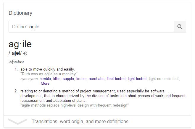Agile Definition | The Ultimate Guide to Agile Internet Marketing