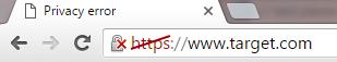 SSL Certificate Error Affects Google's HTTPS Ranking Signal